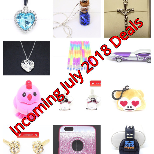 Incoming July 2018 Deals