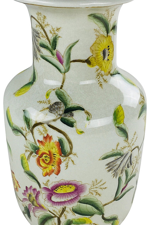 Ceramic Hedgerow Flowers Vase 33cm Shipping furniture UK
