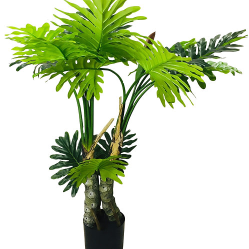 Artificial Philodendron Tree, Spot Stems 135cm Shipping furniture UK