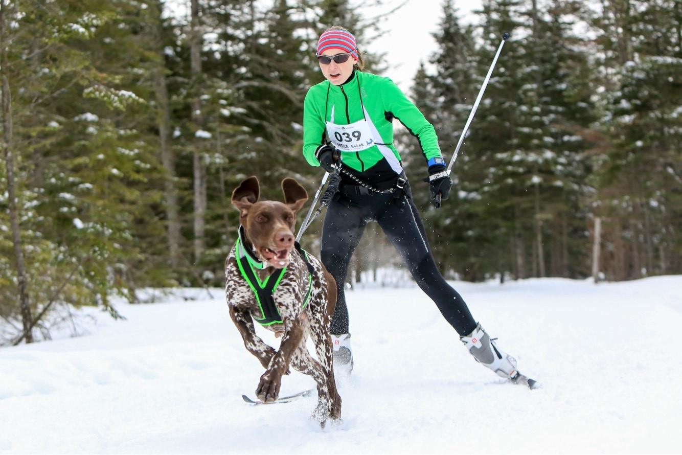 Sarah W. & Asil - skijo