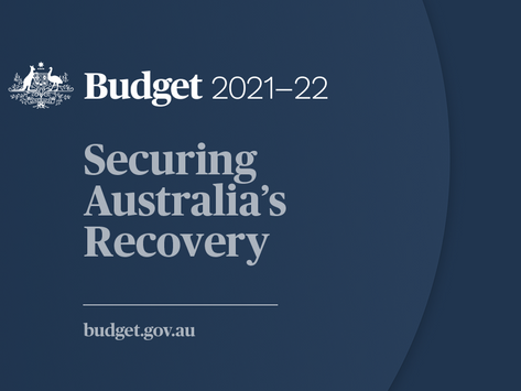 A Look at the Federal            Budget 2021-22: A Win for Businesses of All Sizes