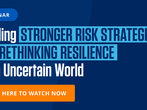 Risk strategy and rethinking resilience with Dataminr