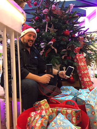 Pareto Engineer Goes Above & Beyond To Deliver Presents To Charity