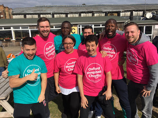 Pareto FM Team complete Skydive for Oesophageal Cancer Awareness