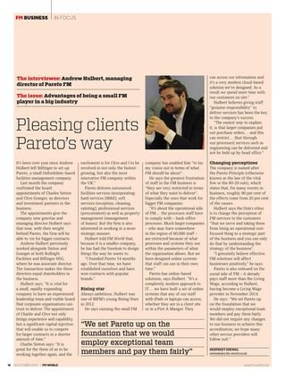 Pareto FM's success featured in FM World