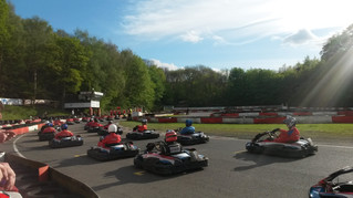 Team Pareto supports charity at Karting for Heroes Event