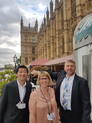 Pareto FM attend the House of Commons!