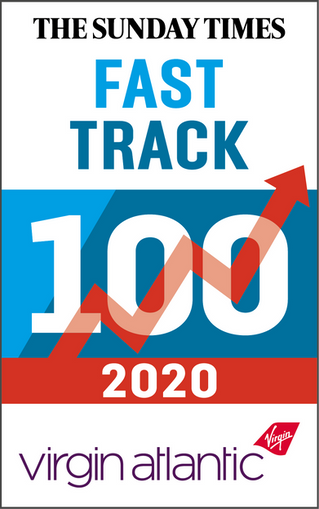 Pareto FM named on the 2020 Sunday Times Fast Track 100 list