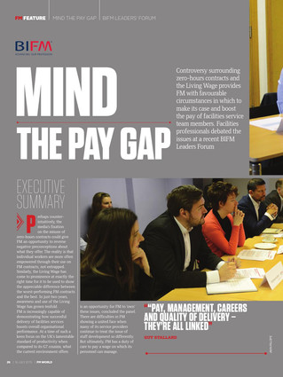 Pareto FM engaged in BIFM Leaders Forum 'Mind The Pay Gap'- FM World