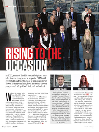 Pareto FM featured in FM World article 'Rising To The Occasion'