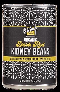 Dark Red Kidney Beans. 8trackfoods.com