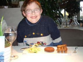 Eating at Raymond Blanc's, Le Manoir restaurant