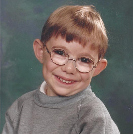 Picture of me at primary school