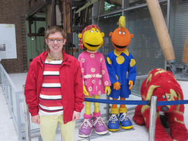 Fizz, Jake and Doodles from the Tweenies, my favourite kids show