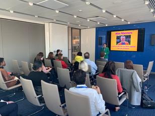 Presenting Asperger's talk to Zurich Insurance in London