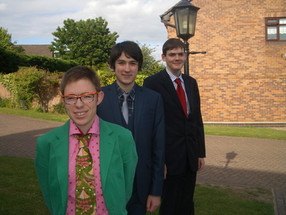 Me and my friends getting ready for our prom