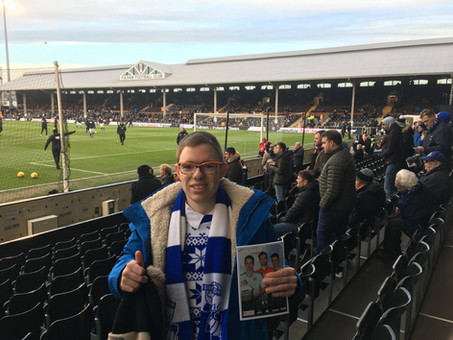 Doing the 92 at Craven Cottage, Fulham