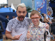 Blue Peter Presenter Barney Harwood