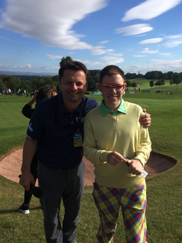 TV Presenter Chris Hollins
