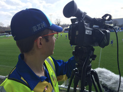 Solihull Moors Filming for BT Sport