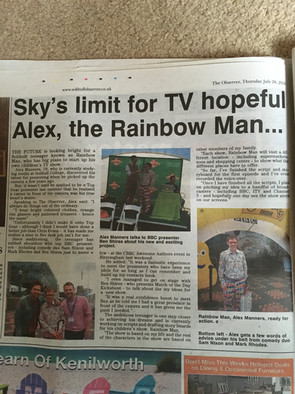 Article in Solihull Observer