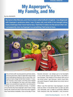 Article in Autism Parenting magazine