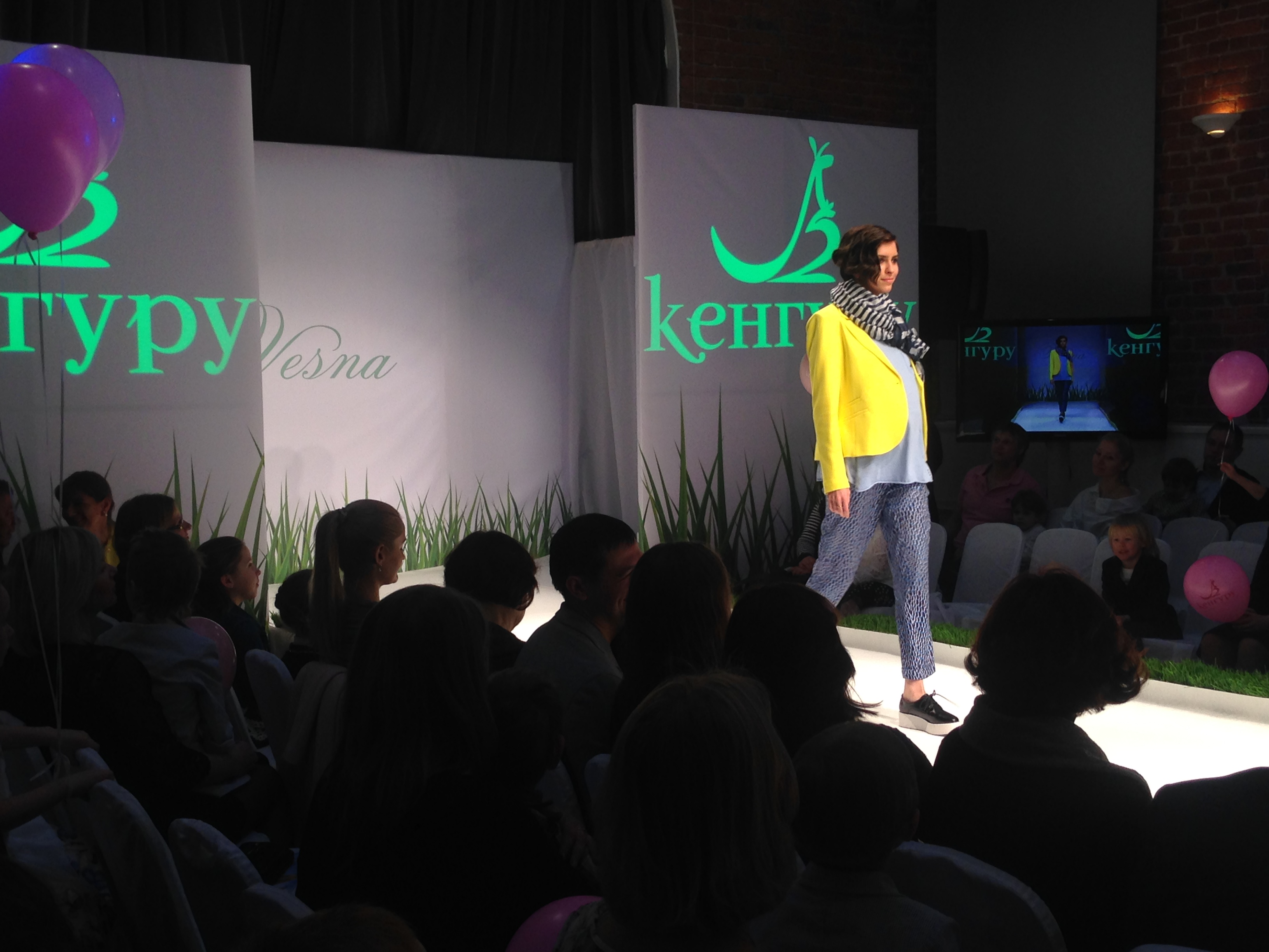 Styling Kenguru for fashion show