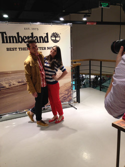Day of the stylist in Timberland