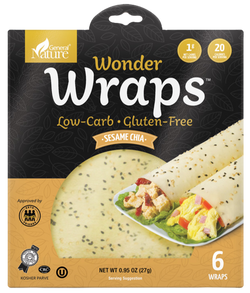 Wonder Wraps - Sesame Chia