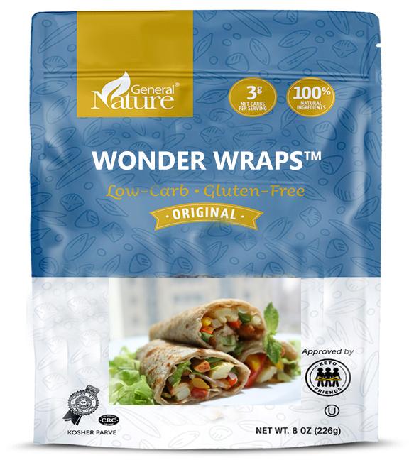 Wonder Wraps Mockup