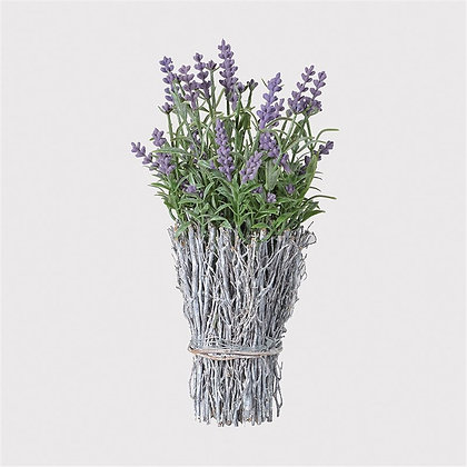 Lavender Arrangement in Twig Container