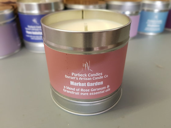 Purbeck Soy Wax Candle - Market Garden