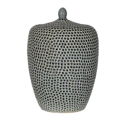 Khaki Mosaic Jar