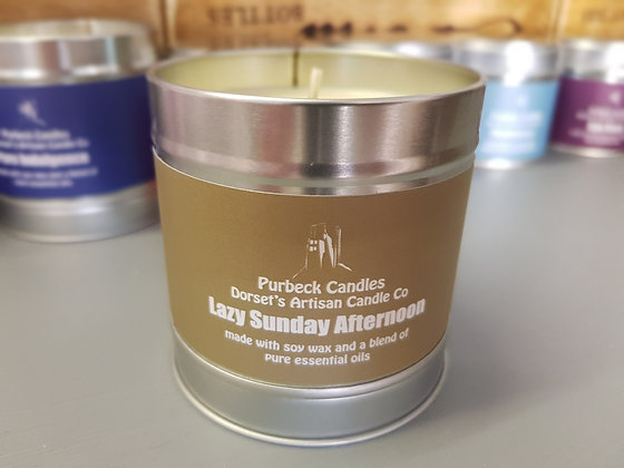 Purbeck Soy Wax Candle - Lazy Sunday Afternoon