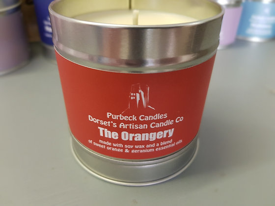 Purbeck Soy Wax Candle - The Orangery