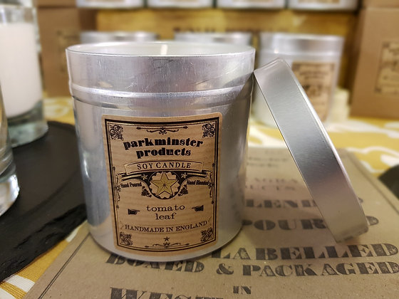 Parkminster Soy Wax Candle - Tomato Leaf