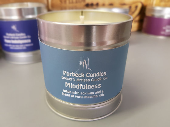 Purbeck Soy Wax Candle - Mindfulness