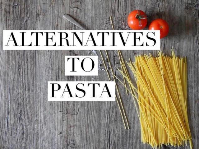 Pasta alternatives