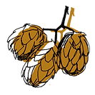 Hopfen Illustration