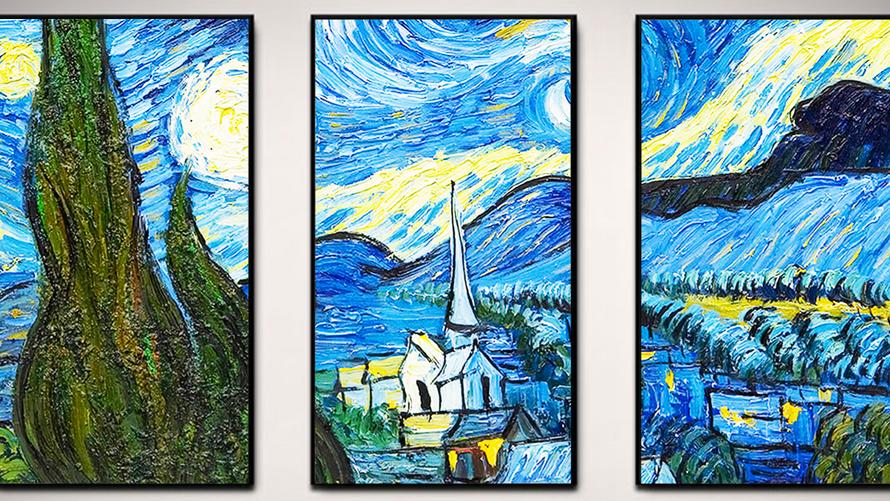 NEW! Virtual Paintings