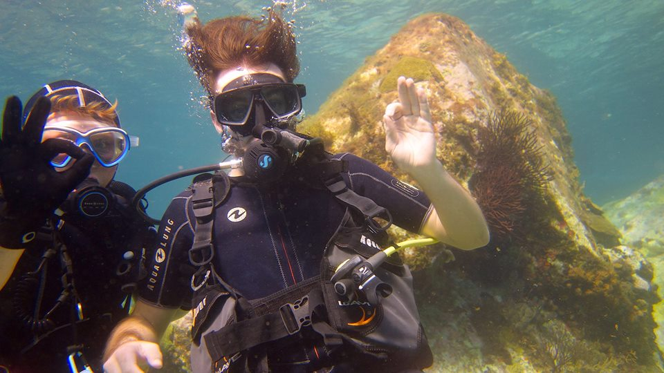Try Scuba Diving Martinique!