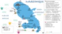 Dive Map Martinique