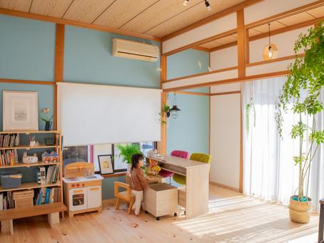 """■「木の家」リフォーム  -お客様の声- / 思い出もそのまま素敵に。こどもも喜ぶ""""大井川の木""""の住まい"""