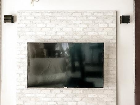 壁掛けテレビにリフォーム