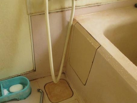 お風呂の蛇口の交換リフォーム