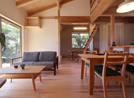 島田市大草にて、本日より二日間、「木の家」完成見学会を開催します!