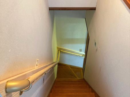 階段手摺のリフォーム