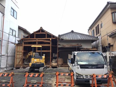 解体工事の現場
