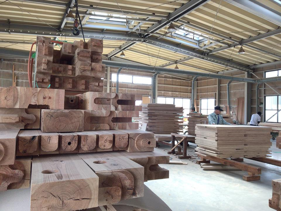 来週の「木の家」建て方に向けて、ただ今 追い込み中!