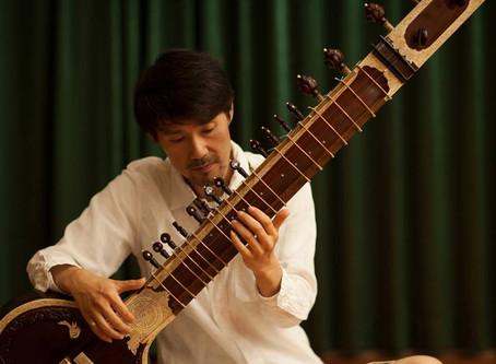 2/22シタール LIVE  演奏:加藤貞寿